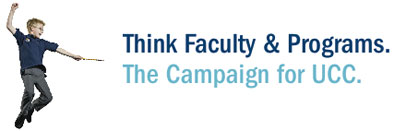 Think Ahead. Think Faculty & Programs.